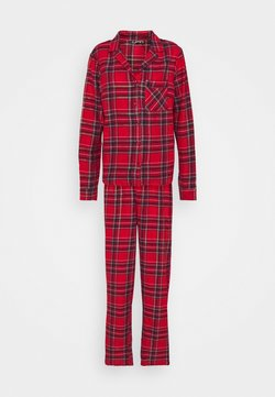 Missguided - TRADITIONAL CHECK SET - Pyjama - red