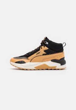 Puma - X-RAY 2 SQUARE MID WTR UNISEX - Sneaker high - taffy/black
