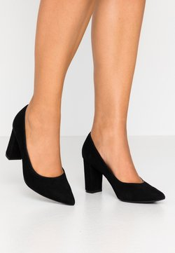 Anna Field Wide Fit - LEATHER CLASSIC HEELS - Escarpins - black