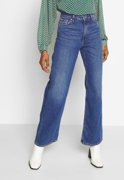 Monki - YOKO - Straight leg -farkut - blue medium dusty