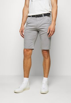 Lindbergh - CLASSIC  BELT - Shorts - silver
