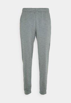 Nike Performance - PANT DRY YOGA - Pantalones deportivos - smoke grey/iron grey/black