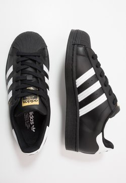 adidas Originals - SUPERSTAR - Sneakers laag - core black/footwear wihte