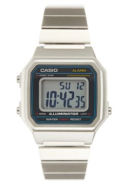 Casio - Montre à affichage digital - silver-coloured/black