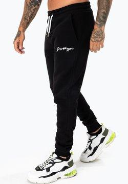 Hype - SCRIPT - Jogginghose - black