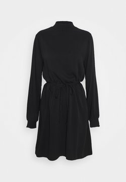 Vila - VIDANIA SMOCK DRESS - Korte jurk - black