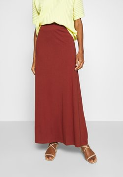 Anna Field - BASIC - Maxi skirt - Jupe longue - burnt henna