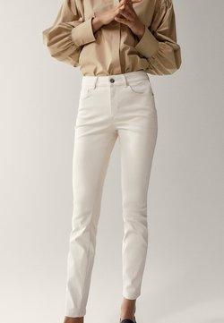 Massimo Dutti - Jeans Skinny Fit - white