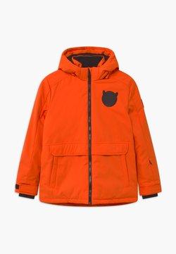 SuperRebel - SUSTAINABLE PLAIN UNISEX - Laskettelutakki - neon orange