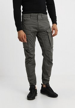 G-Star - ROVIC ZIP 3D STRAIGHT TAPERED - Cargo trousers - grey