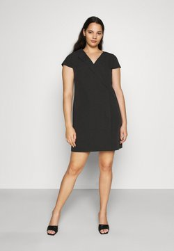 CAPSULE by Simply Be - TAILORED DRESS - Etuikleid - black