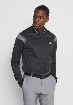 adidas Golf - WARMTH 1/4 ZIP - Sweater - black melange