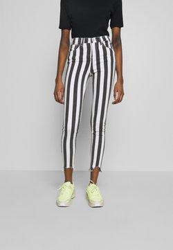 LTB - TANYA - Jeans Skinny Fit - striped black wash