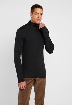 Pier One - Langærmede T-shirts - black