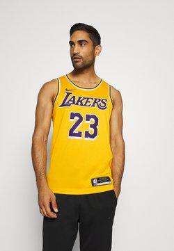 Nike Performance - NBA LA LAKERS LEBRON JAMES SWINGMAN - Pelipaita - amarillo/field purple