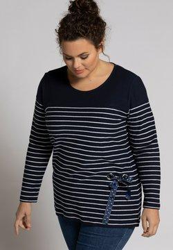 Ulla Popken - Sweatshirt - navy stripe