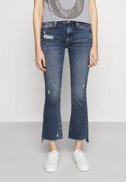 True Religion - HALLE KICK  - Jeans a zampa - denim blue