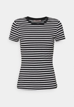 Anna Field - T-Shirt print - black/white