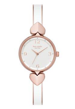 kate spade new york - HOLLIS - Montre - white/rose gold-coloured