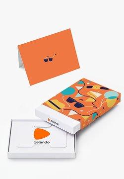 Zalando - HAPPY BIRTHDAY - Geschenkgutschein in Box - orange