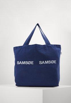 Samsøe Samsøe - FRINKA  - Shoppingväska - blue depths
