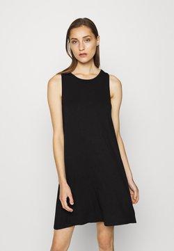 GAP - SWING DRESS - Vestido ligero - true black
