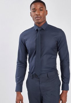Next - SET - Businesshemd - blue