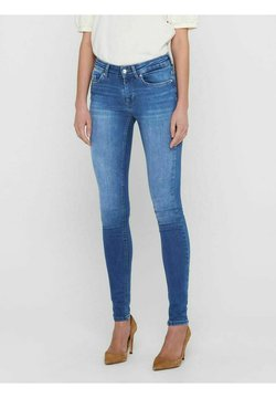 ONLY - ONLBLUSH LIFE MID SKINNY   - Jeans Skinny Fit - medium blue denim