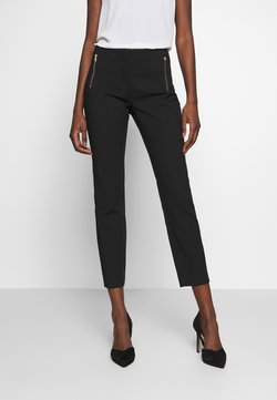 Cortefiel - BASIC SLIM TROUSERS - Chinot - black