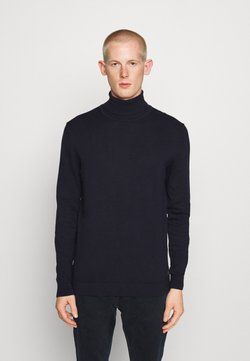 TOM TAILOR - Strickpullover - navy melange