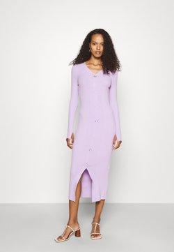HUGO - SAFFAT - Stickad klänning - bright purple