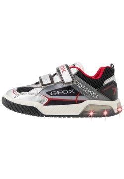Geox - INEK BOY - Sneaker low - silver/black