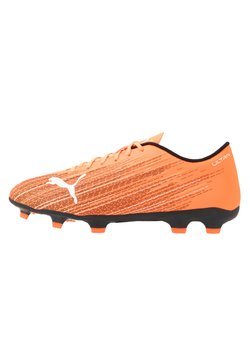 Puma - ULTRA 4.1 FG/AG - Fußballschuh Nocken - shocking orange/black