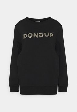 Dondup - FELPA GIROCOLLO - Sweater - black