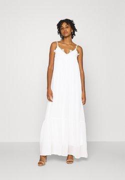 YAS - YASLUANN STRAP MAXI DRESS CELEB - Ballkleid - star white