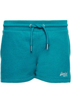 Superdry - Jogginghose - ocean green marl