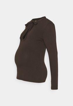 Noppies Studio - TEE SANTIAGO - Långärmad tröja - brown