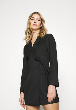 Monki - KAREN DRESS - Shift dress - black