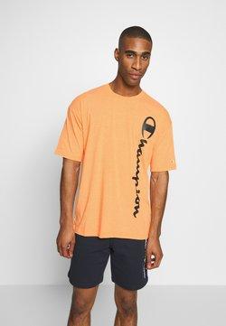 Champion - CREWNECK - Printtipaita - orange
