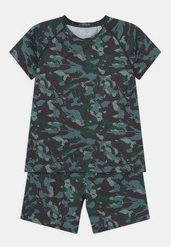 South Beach - CAMO PRINT SET UNISEX - T-shirt z nadrukiem - dark green