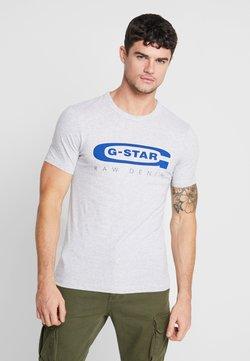 G-Star - GRAPHIC 4 SLIM - Print T-shirt - light grey heather
