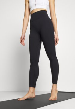 Nike Performance - SEAMLESS 7/8 - Trikoot - black/smoke grey