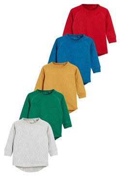 Next - 5 PACK  - Longsleeve - red/blue/mottled grey