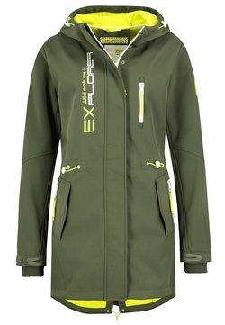 Sublevel - Regenjacke / wasserabweisende Jacke - grün