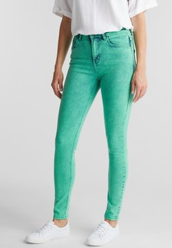 edc by Esprit - Slim fit jeans - green