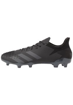 adidas Performance - PREDATOR 20.2 FG - Fußballschuh Nocken - core black/dough solid grey