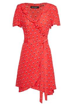 Superdry - SUMMER WRAP DRESS - Freizeitkleid - red