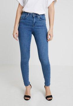 ONLY Petite - ONLPOWER MID PUSH UP - Jeans Skinny Fit - medium blue denim