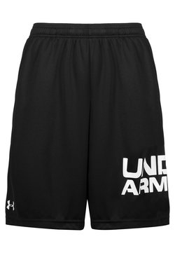 Under Armour - TECH WORDMARK SHORTS - Pantalón corto de deporte - black