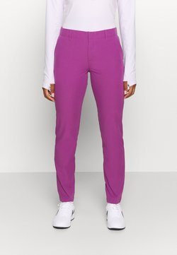 Under Armour - LINKS PANT - Stoffhose - baltic plum